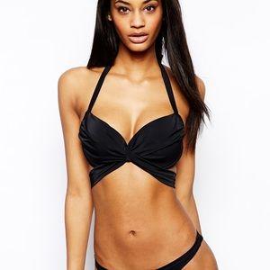 2b8e8f5cf 36 DD E ASOS Fuller Bust Wrap Bikini Top ...